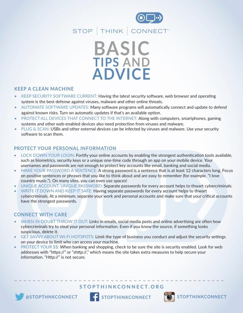 BasicTipsAndAdviceSTC